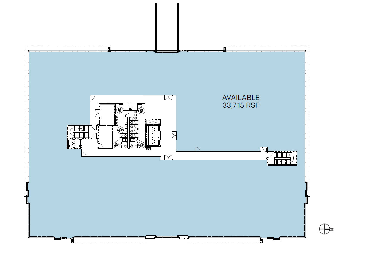 Medsquare Health 2nd floor plan