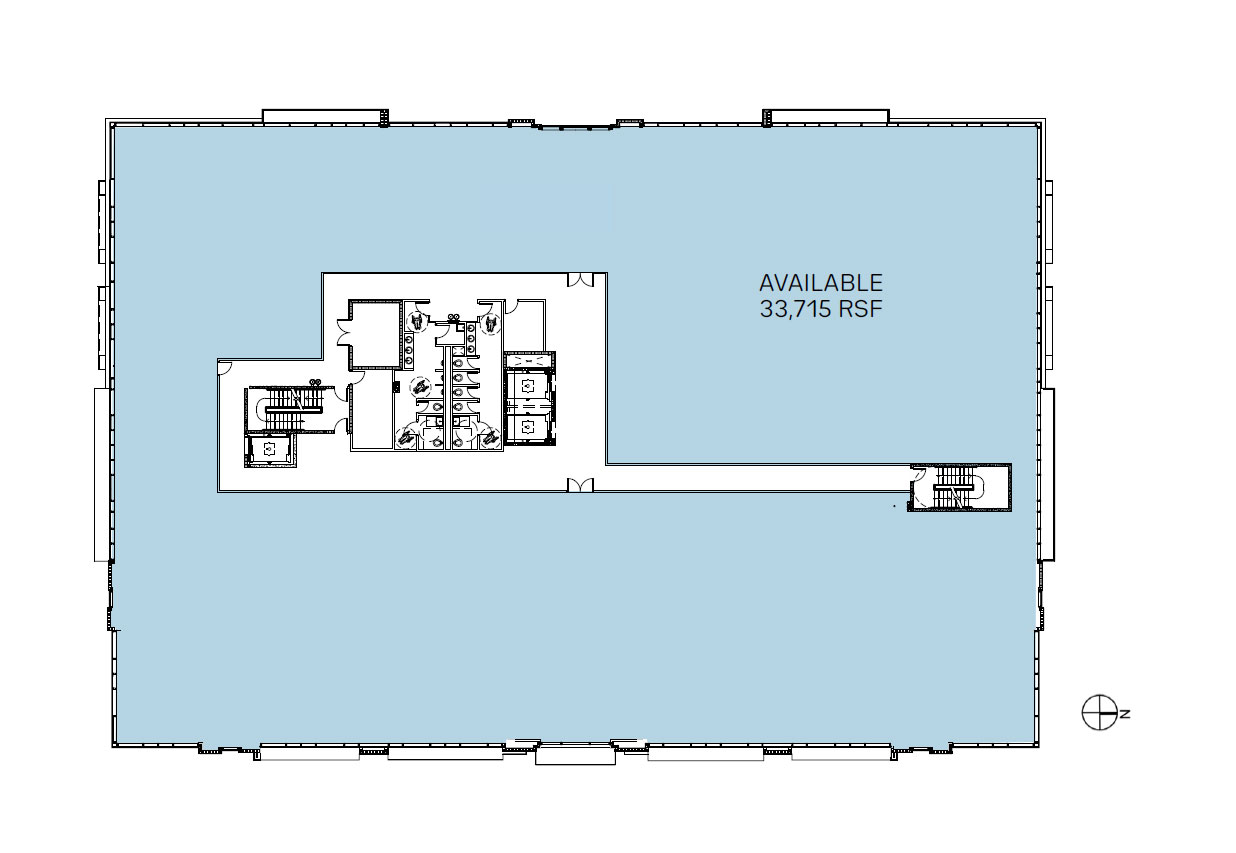 Medsquare Health 3rd floor plan